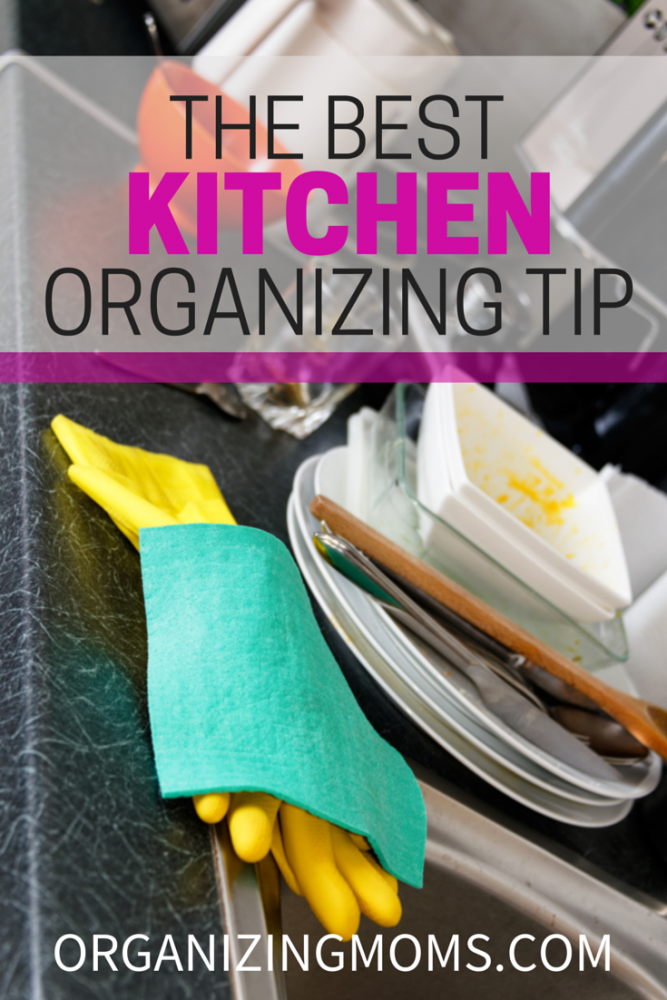 One of the simplest, most effective kitchen organization tips ever.