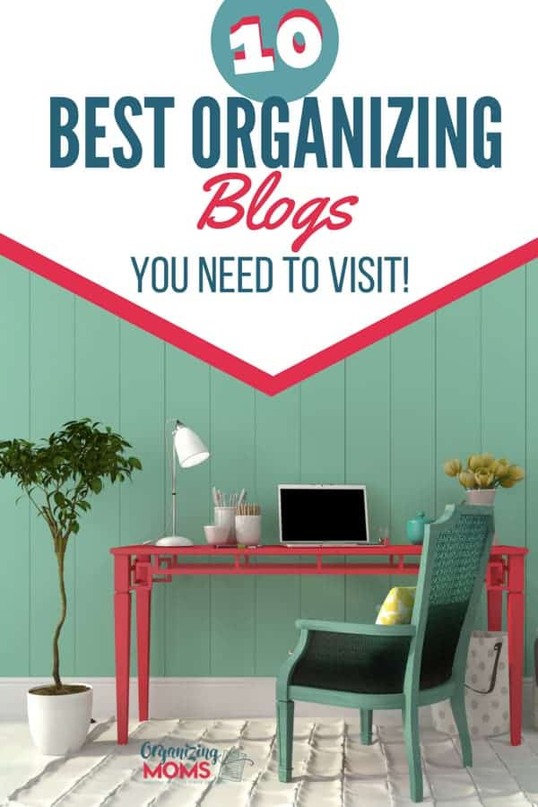 Looking for organization inspiration? These favorite organizing blogs are full of photos, tips, tricks, and ideas that will help you organize your home and your life.