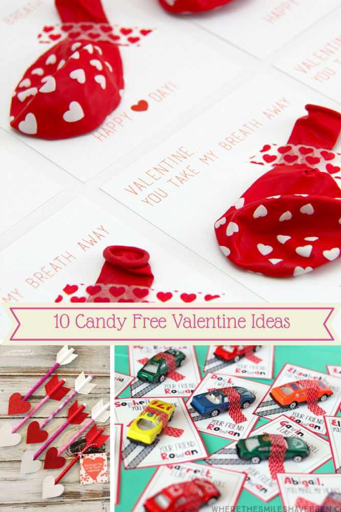 Candy free Valentine ideas your kids will love to give to their friends.