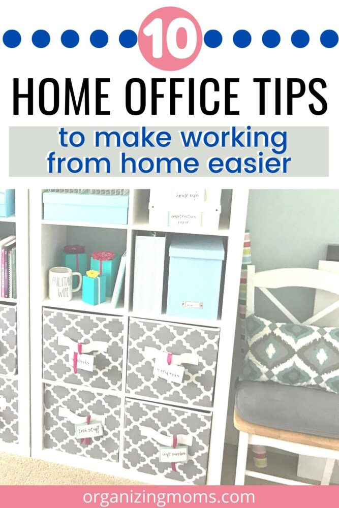 10 home office tips to make working from home easier