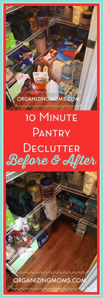 Are you skeptical about the effectiveness of decluttering for just ten minutes at a time? I tested out the ten minute declutter, and I was amazed by the results!