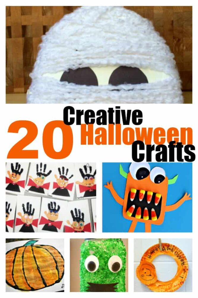 20 creative Halloween craft ideas that are sure to delight your little ones!