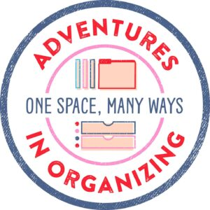 There are many ways to organize. Adventures in Organizing gives you organizing choices.