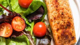 Air Fryer Salmon + Video {Gluten-Free, Low Carb, Keto, Paleo, Whole 30}