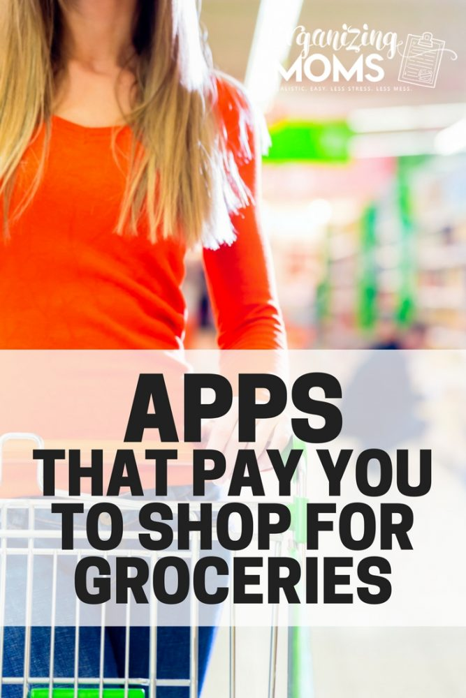 Apps that pay you to shop for groceries. An easy way to lower your grocery bill each week.