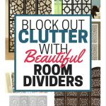 Block Out Clutter With Beautiful Room Dividers
