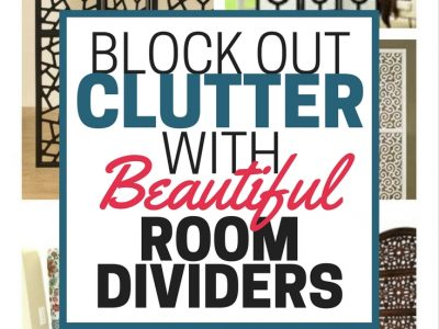 Is your open floor plan a little too open? Block out clutter and create boundaries with beautiful room dividers.