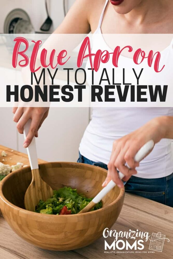 A totally honest review of Blue Apron. What our family thought about the Blue Apron meal delivery service.