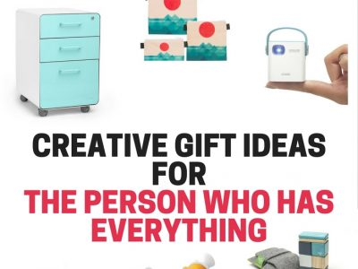 Creative gift ideas for the person who has everything. Unique gift ideas for that hard to buy for person on your list.