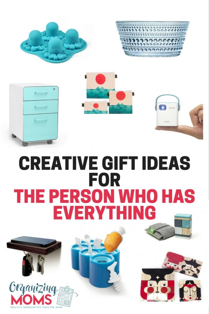 Creative Gift Ideas For The Person Who Has Everything Unique That Hard