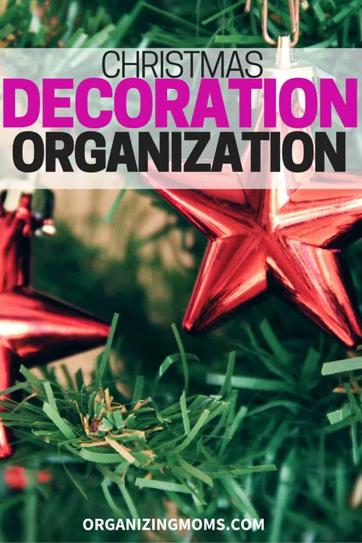 organize christmas decorations the easy way this year use what you love and declutter