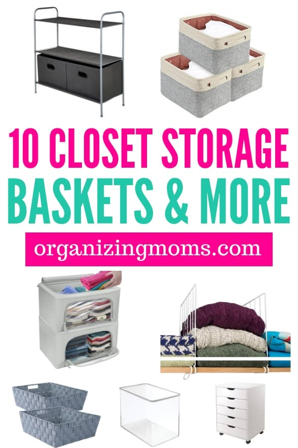 Closet Storage Baskets For Organizing Your Set Up Efficient Systems By With