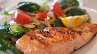 Easy Keto (Low Carb) Air Fryer Salmon - Healthy with Jamie