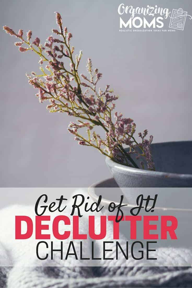 Are you ready to get rid of the clutter in your home? This challenge will help you declutter your home in 10 minutes a day. Easy to do, effective, and helpful for anyone who wants to get organized!