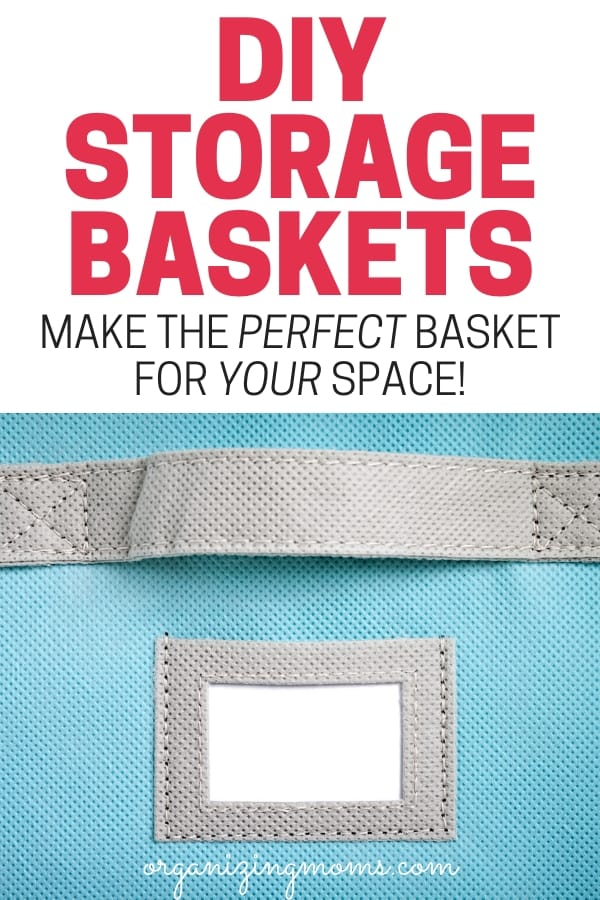 DIY baskets for storage that will help you create the perfect storage basket for your space.