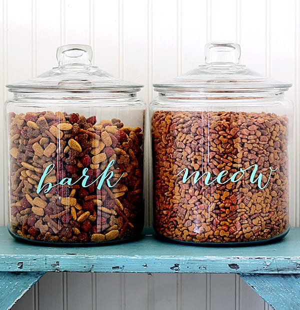 pet food labels from the shabby creek cottage