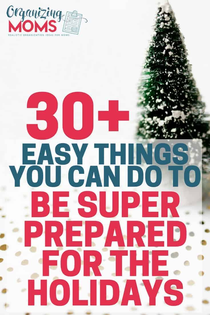You Can Do It: Preparing For The Holidays