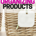 Favorite organizing products that get the job done! After a big declutter, these products helped me organize our home.