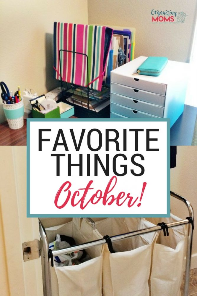 My favorite things! Products, services, and items I use to organize our home.