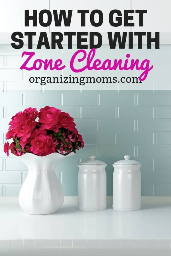 How to start FlyLady zone cleaning. After you've been doing Fly Lady's weekly routine for a while, you can start working on zone cleaning for even better results.