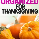 Get Organized for Thanksgiving