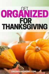 What do you need to do for Thanksgiving? Are you hosting a dinner? Visiting others? Taking the time to plan ahead now can make Thanksgiving a lot less stressful and more fun!