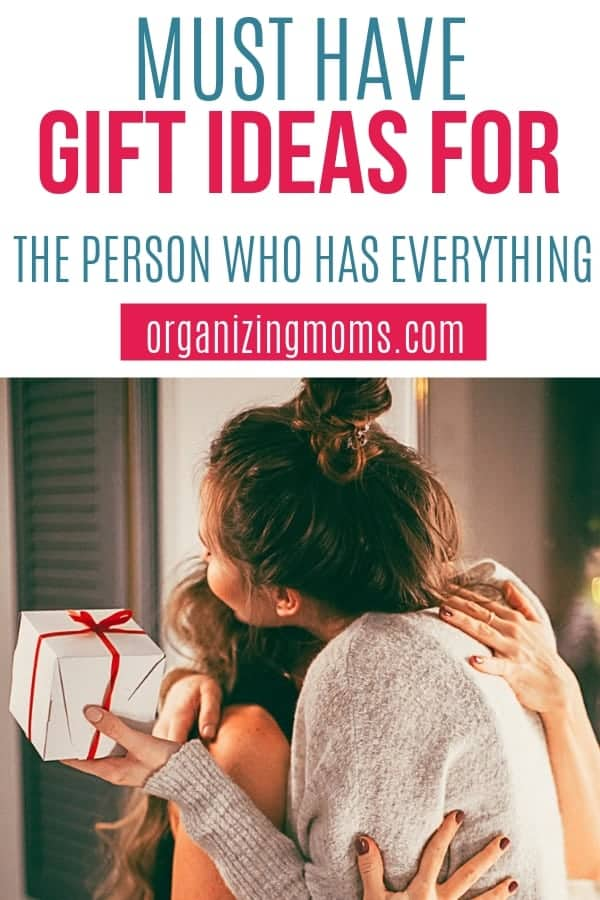 Want to give a gift, but don't know what to give? This list of unique gift ideas will help you find something special for the person who has everything. #giftideas #presents #christmas #birthdaygift