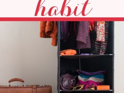 Start a declutter habit and make decluttering part of your regular routine. How to build your own habit to eliminate clutter.