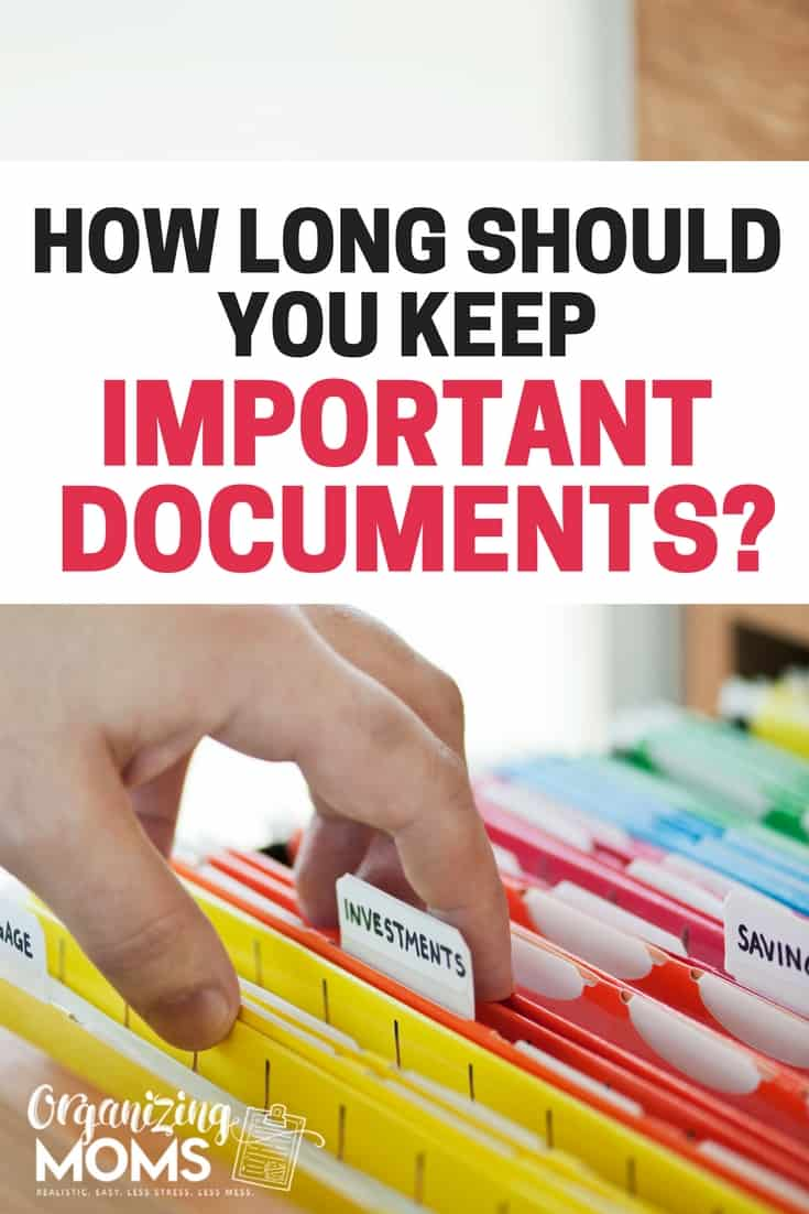 how to organise to be read documents