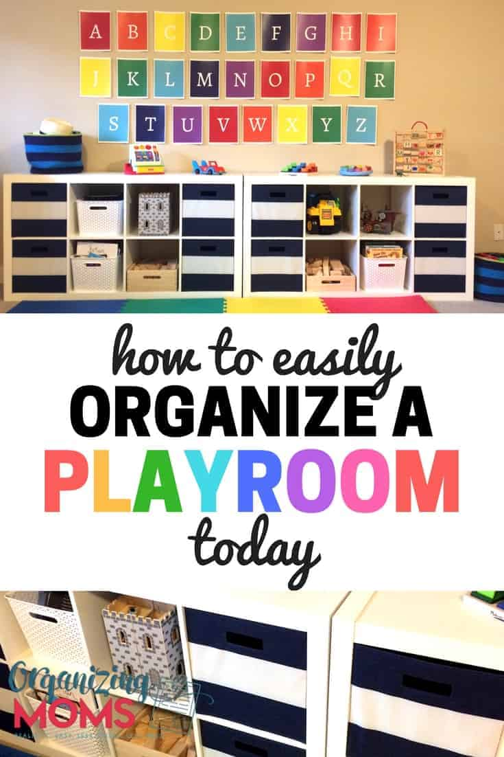 Easy Steps To Help You Organize Your Playroom. Now Your Toy Room Can Be A