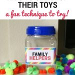 How to Get Kids to Clean Up Their Toys With a Family Helper Jar