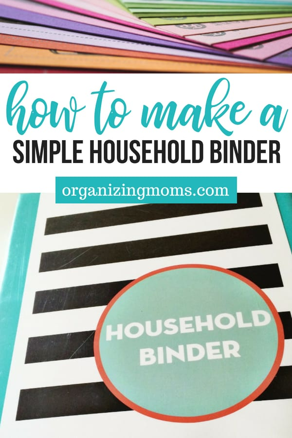 How to Make a Simple Household Binder (1)