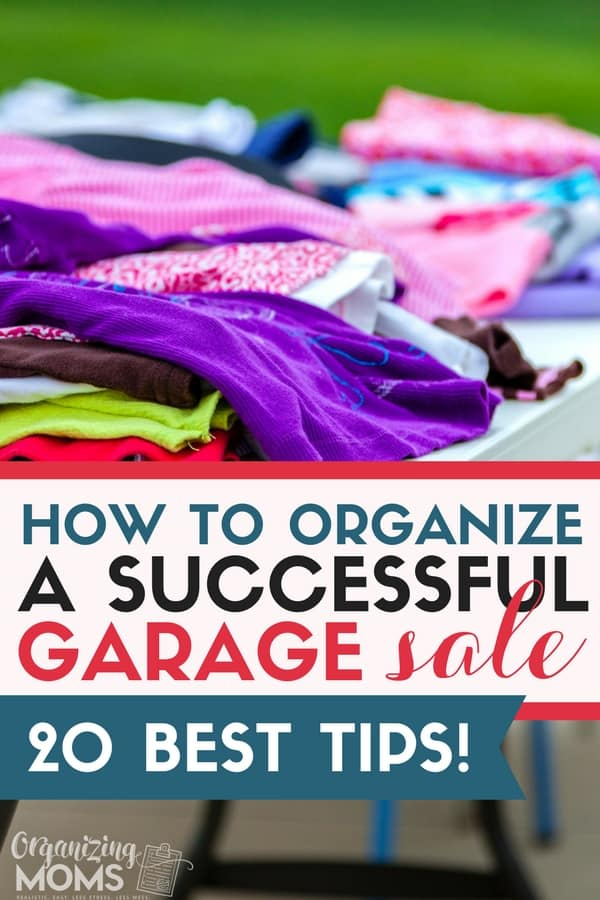 How to organize a profitable garage sale and make money off your clutter! || garage sale tips | garage sale ideas | garage sale organization | garage sale set up | garage sale hacks | garage sale printables | garage sale signs | yard sale ideas | yard sale signs | yard sale tips | yard sale organization #organize #garagesale