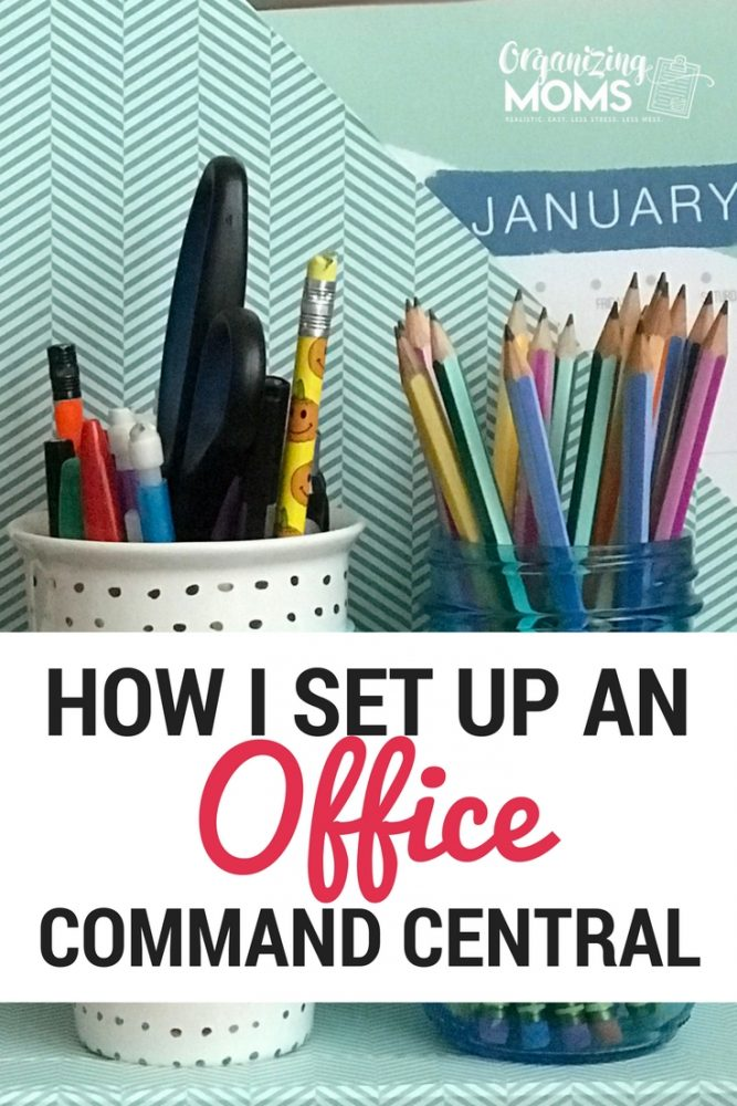 How I set up my own office command central for maximum organization. Helps keep track of papers, commitments, important documents and more!