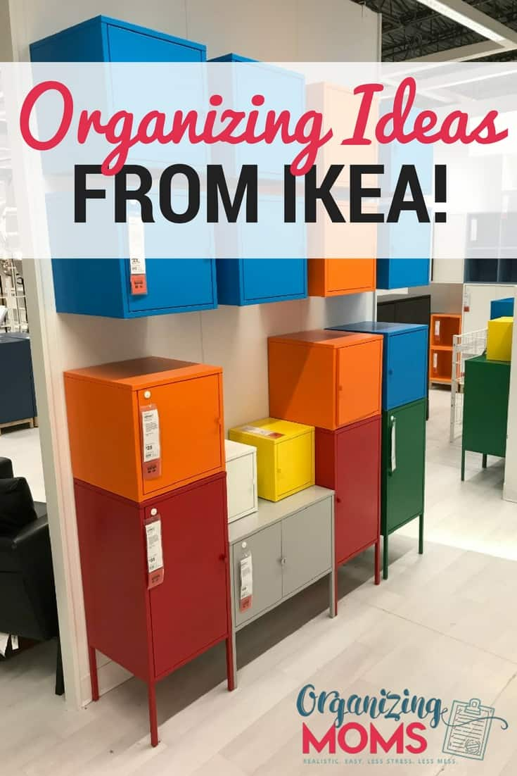 Smart Organizing Ideas From IKEA Organizing Moms