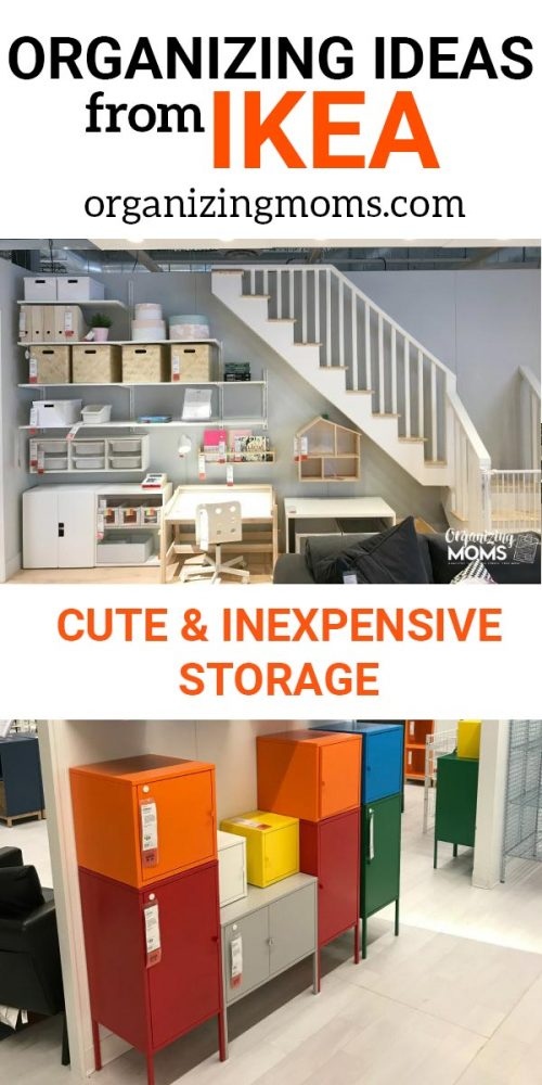 IKEA organization finds - cute and inexpensive storage. Smart organizing ideas from IKEA. Organize and decorate your whole house on a budget. See what we found at IKEA on our latest trip to the store!
