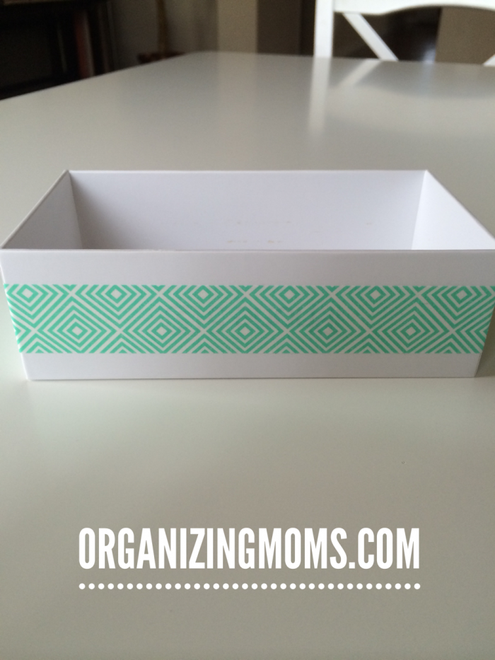 Use old iPhone boxes for storage.