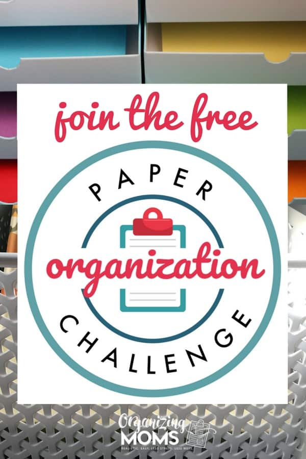 How to organize all of your important paperwork. Join us for this free challenge that will help you declutter paper piles, set up a paper organization system, and finally know where you're keeping your important records.
