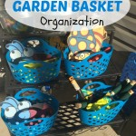 How to create a garden basket for your children.