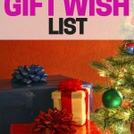 Cut down on clutter, make things easier for others, and save yourself time by making your own gift wish list.