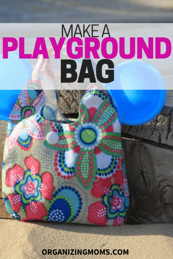 Organize a Playground Bag for your trips to the park.