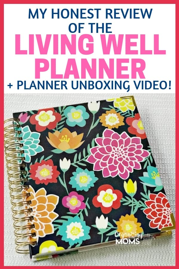 See inside my Living Well Planner with this honest review and unboxing video. See all that's included in this undated planner that's great for organizing your whole entire life.