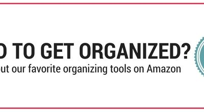 Need to get organized? Click here to see our favorite organizing tools on Amazon.
