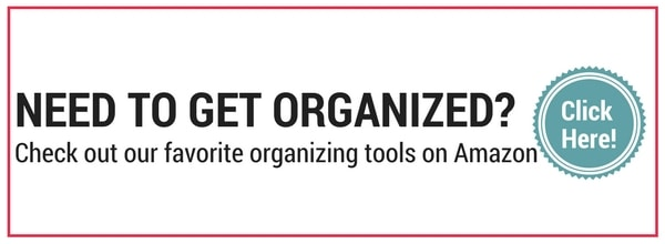 Need to get organized? Check out our favorite organizing tools on Amazon!