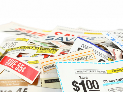 A simple method for organizing coupons. Everything is easy-to-find, and maintaining the system is easy.