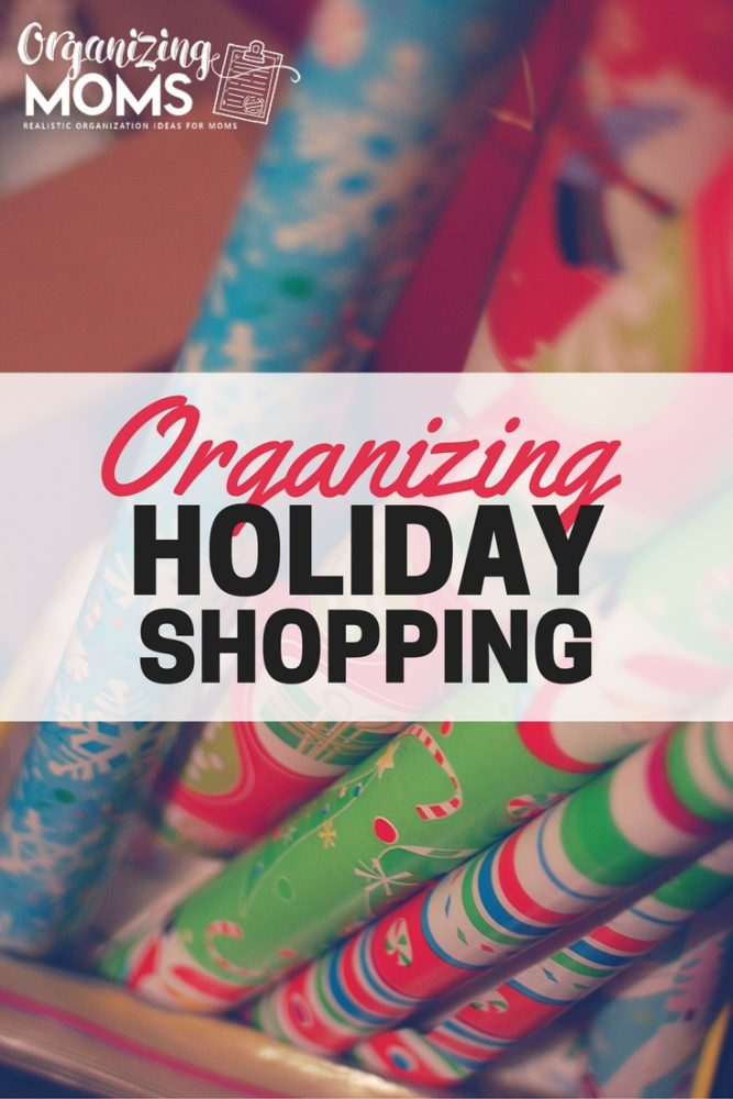 Get your holiday shopping done fast! Check out this game plan for organizing Christmas shopping.