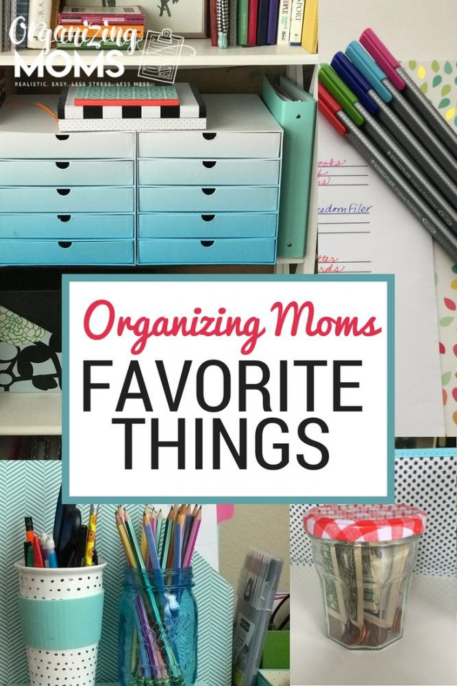 All the favorite things from Organizing Moms, all in one spot! Recommendations, ideas, tips and tricks.