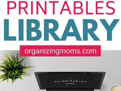 Free printables to help you organize your home. || organization | free printable | free calendar | meal plan printable | organize | organization ideas for the home | declutter and organize | #organization #freeprintable