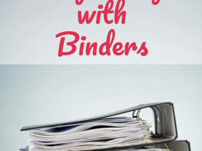 How to Organize Your Paperwork With Binders || binder organization | paper organization | time management tips | binder organization printables | organization ideas for the home | organize | declutter | #organize #binders #paperorganization