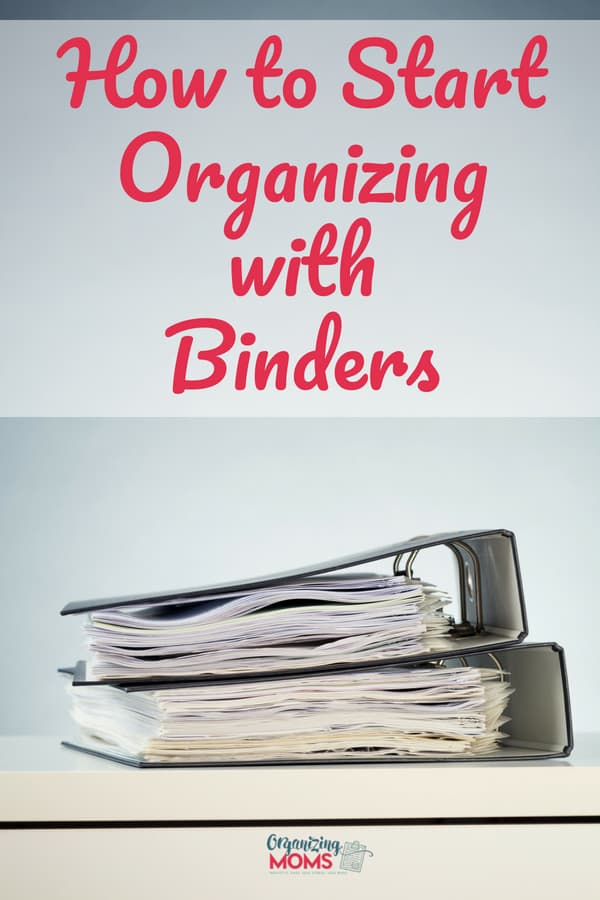 How to Organize Your Paperwork With Binders || binder organization | paper organization | time management tips | binder organization printables | organization ideas for the home | organize | declutter
